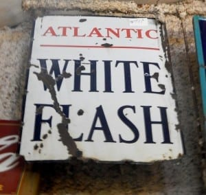 white flash