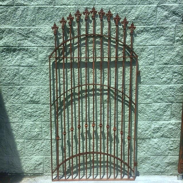 6 Foot Gate Is Made From Flat Steel Hollow Steel And
