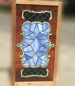 Small Henry Lips Original Stained Glass