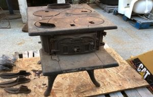Old Kitchen Stove