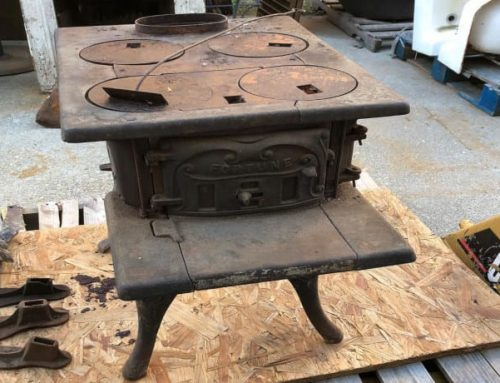 Upcycling Idea: Re-purpose An Old Kitchen Stove
